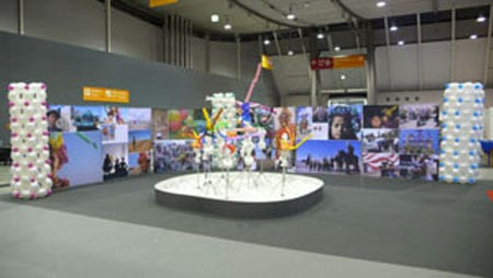 Messe stand Attraktion Idee