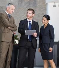 NAchbereitung der Messekontakte. das Messe Lead Management